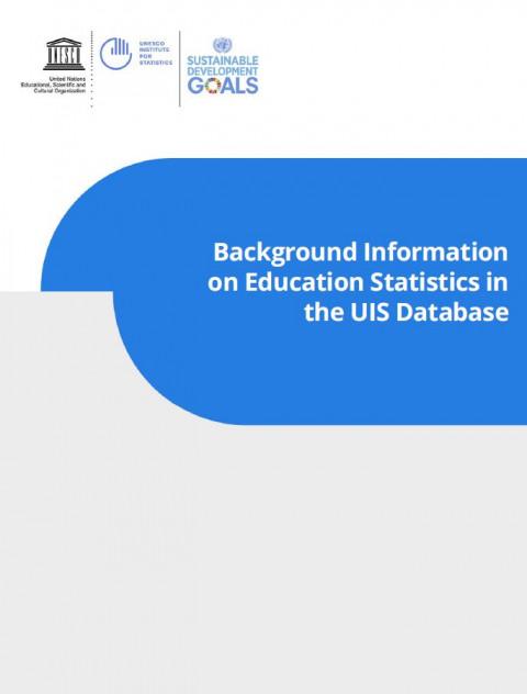 ⓒ UNESCO Institute for Statistics (UIS)