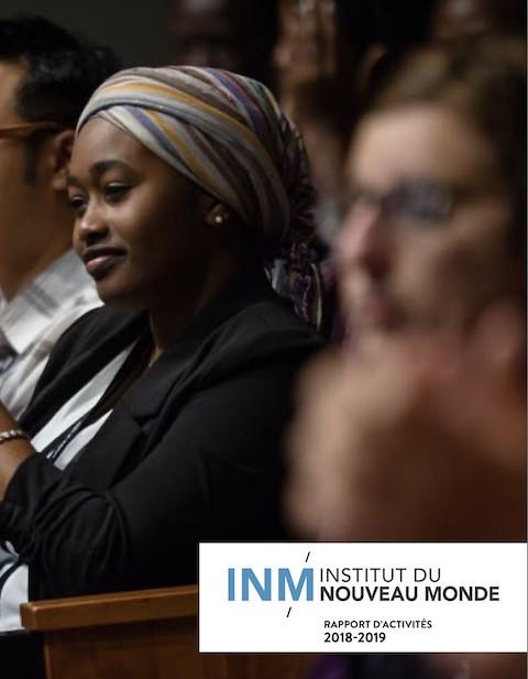 © Institut du Nouveau Monde (INM) 2019