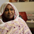 Khadiga Al Gassim, Founder and Secretary-General of the NGO Al Gassim for Humanitarian Aid and Development (AGHAD) in Sudan.